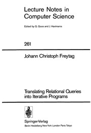 Translating relationalqueries into iterative programs