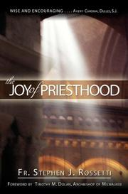 Cover of: The Joy of Priesthood