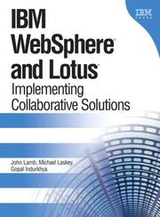 Cover of: IBM WebSphere and Lotus