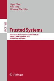 Cover of: Trusted Systems | Liqun Chen
