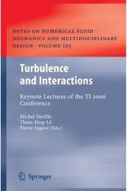 Cover of: Turbulence and interactions | M. O. Deville