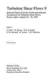 Cover of: Turbulent Shear Flows 9 | Franz Durst