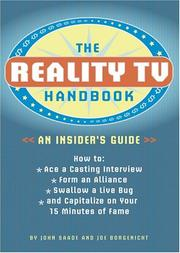 Cover of: The Reality TV Handbook: An Insider