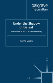 Cover of: Under the Shadow of Defeat | Karine Varley