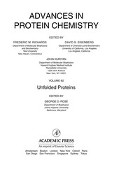 Cover of: Unfolded proteins |