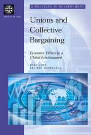 Cover of: Unions and collective bargaining | Toke Aidt