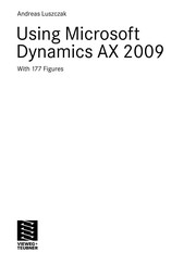 Cover of: Using Microsoft Dynamics AX 2009 | Andreas Luszczak