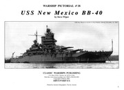 Cover of: Warship Pictorial No. 18 - USS New Mexico BB-40 |