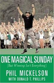 Cover of: One Magical Sunday: (But Winning Isn't Everything)