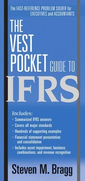 Cover of: The vest pocket guide to IFRS | Steven M. Bragg