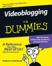 Cover of: Videoblogging for dummies