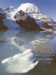 Cover of: Foundations of earth science