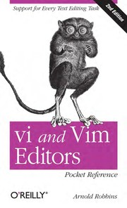 Cover of: Vi and Vim editors | Arnold Robbins