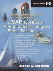 Cover of: mySAP Tool Bag for Performance Tuning and Stress Testing (HP Professional Series)