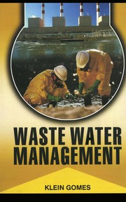 Cover of: Wastewater management | Klein Gomes