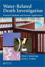 Cover of: Water-related death investigation | Erica J. Armstrong