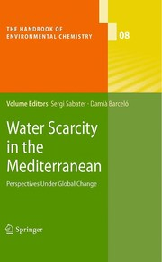 Cover of: Water scarcity in the Mediterranean | Sergi Sabater