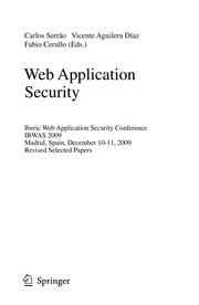 Cover of: Web Application Security | Carlos SerrГЈo