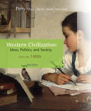 Cover of: Western civilization | Marvin Perry ... [et al.] ; George W. Bock, editorial associate.