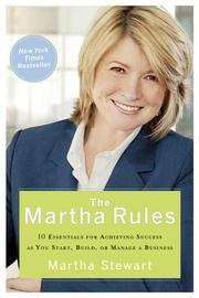 Cover of: The Martha Rules | Martha Stewart