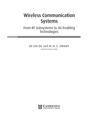 Cover of: Wireless communication systems | K.-L Du