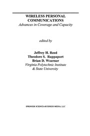 Cover of: Wireless Personal Communications | Jeffrey H. Reed