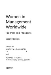 Cover of: Women in management worldwide | Marilyn Davidson