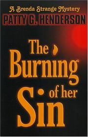 Cover of: The Burning Of Her Sin
