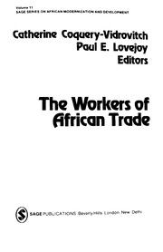 Cover of: The Workers of African trade