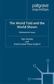 Cover of: The world told and the world shown