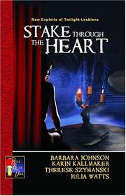 Cover of: Stake through the heart