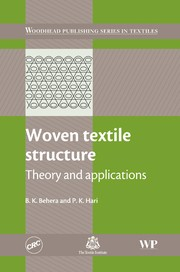 Cover of: Woven textile structure | B. K. Behera