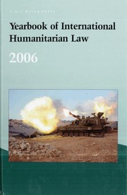 Cover of: Yearbook of international law |
