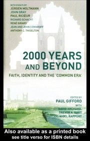 Cover of: 2000 years and beyond