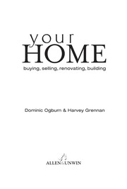 Cover of: Your home