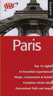 Paris Essential Guide (Essential Paris) by American Automobile Association.