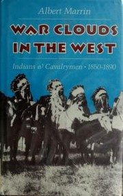 Cover of: War Clouds in the West