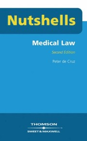 Cover of: Medical Law (Nutshells)