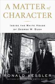 Cover of: A Matter of Character