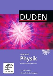 Cover of: Lehrbuch Physik gymnasiale Oberstufe