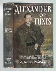 Cover of: Alexander of Tunis | Norman Hillson