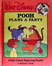 Cover of: Pooh Plans a Party |