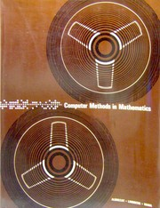 Cover of: Computer methods in mathematics | Bob Albrecht