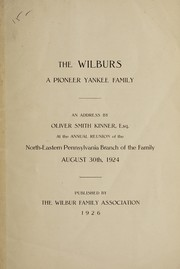 Cover of: The Wilburs | Oliver Smith Kinner