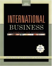 International Business by John D. Daniels, Lee H. Radebaugh, Daniel P. Sullivan