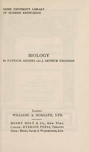 Cover of: Biology