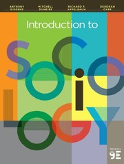 Cover of: Introduction to Sociology (Seagull Ninth Edition) | Anthony Giddens, Mitchell Duneier, Richard P. Appelbaum, Deborah Carr