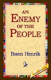 Cover of: An Enemy Of The People | Henrik Ibsen