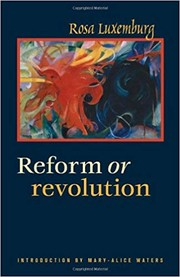 Cover of: Social reform or revolution