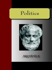 Cover of: Politics |